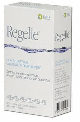 Kora Healthcare Regelle Vaginal Moisturiser - Pack of 3 Tubes