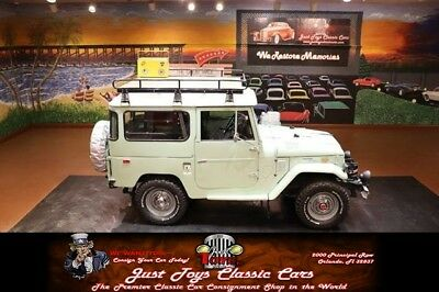 FJ Cruiser -- 1974 Toyota FJ40, Green with 11,895 Miles available now!