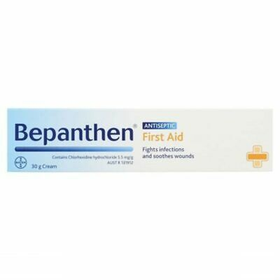 New Bepanthen First Aid Antiseptic Cream 30g