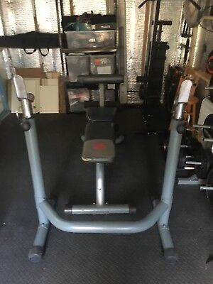 Marcy Weights Bench And Squat/Brech Press Rack