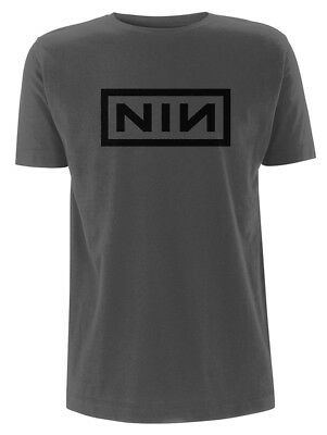 Nine Inch Nails 'Classic Black Logo' (Grey) T-Shirt - NEW & OFFICIAL!