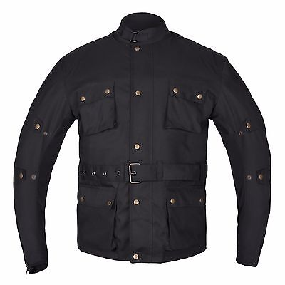 HWK Textile Cordura Long Motorcycle Jacket Motorbike COAT Waterproof CE ARMOURED