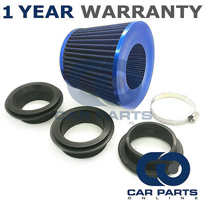 Sports Performance Fits 99% Cars Blue Universal Induction Cone Air Filter
