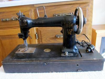 Antique Wheeler Wilson D-9 Sewing Machine For Parts Or Restore See Pictures