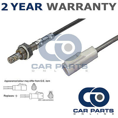 For Ford Ka 1.3 (2002-09) 4 Wire Rear Lambda Oxygen Sensor Direct Fit O2 Exhaust