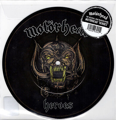 """MOTORHEAD heroes 7"""" PICTURE DISC RSD 2018 limited 500 only"""