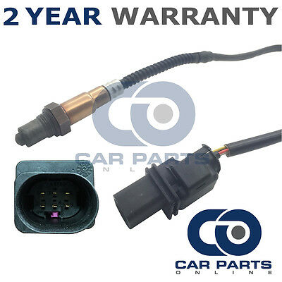 Lambda Oxygen Wideband Sensor For Bmw 1 Series 2.0D 120D E81 E87 Rear 5 Wire