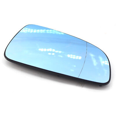 Right Driver Heated WING DOOR BLUE MIRROR GLASS For Vauxhall Astra H 2004-08 UK