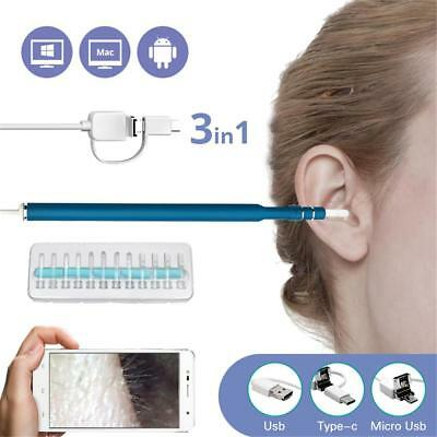 Health Care Tool HD Ear Pick Wax Remover Cleaner Scope Endoscope Camera Tools