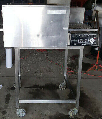 "Lincoln Impinger 1132 Electric Commercial Pizza Oven 18"" Conveyor Stand 208 Volt"