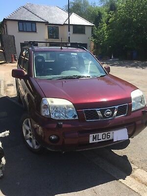 Nissan x trail cruise control satnav leather 2.2 diesel manual owned for 6 years