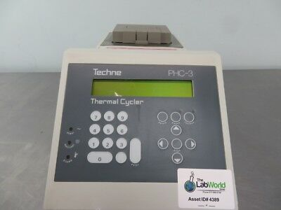 Techne PHC-3 Thermal Cycler with Warranty SEE VIDEO