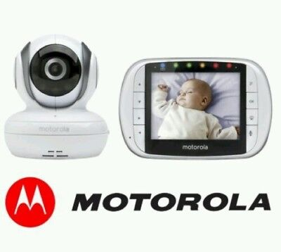 NEW Motorola MBP36S Digital Video Baby Monitor Portable Camera w/ Night Vision