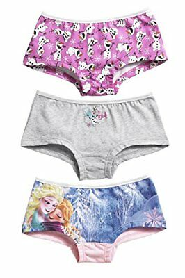 Disney Girl's Frozen Pack of 3 Hipsters