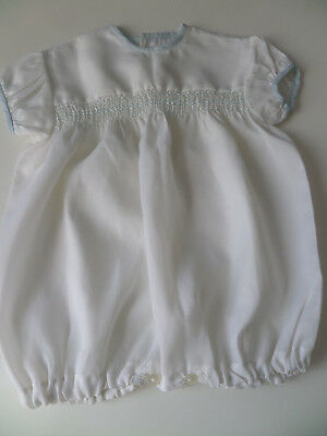 vintage traditional  baby boys romper 15""