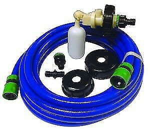 Caravan Mains Water Universal Fill Adaptor 7.5m Quality Hose Aqua Roll Hog kit