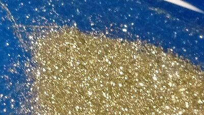 GOLD Flakes-Dust Au MICRO FINES ULTRA RICH CONCENTRATE 1 OZ+ scrap sulfide kt ++