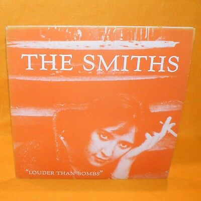 """1987 Rough Trade Records The Smiths """"louder Than Bombs"""" 12"""" Double Lp Vinyl 1St"""