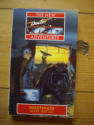 Doctor Who Nightshade,  Doctor Who New Adventures (NA), Virgin paperback