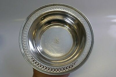 Tiffany & Co. Sterling Silver Reticulated Bowl