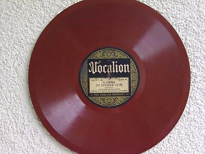 Vocalion 14654 : Fletcher Henderson´s Orch.  1923, Black Halem Band