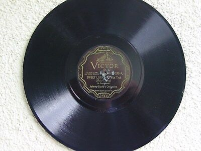 Victor 38038 : Johnny Dodds  Orch.  1929, Black Chicago Jazz Band
