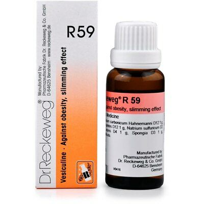 Dr. Reckeweg R59 Obesity and Weight Drops 50ml Homeopathic Remedies