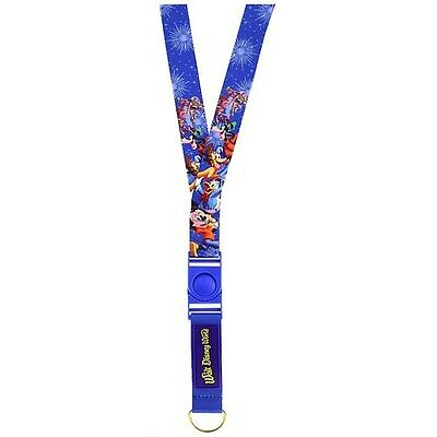 Disney Parks Pin Lanyard Walt Disney World Mickey and Friends Storybook
