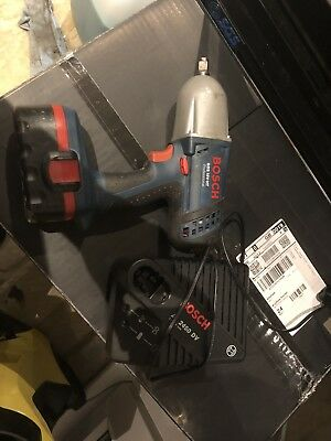 Bosch ½ Impact Driver Wrench Gun With Charger And Battery