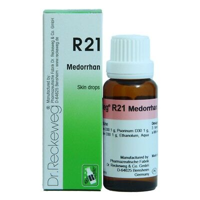 Dr. Reckeweg R21 Reconstituant Drops To increase reactivity 50ml Homeopathy