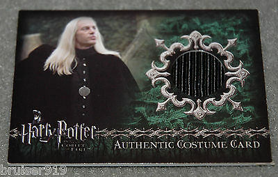 Harry Potter GOBLET of FIRE Costume Card 260/475 LUCIUS MALFOY C1 Artbox GOF