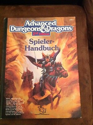 AD&D - Advanced Dungeons & Dragons 2nd Edition - Spieler Handbuch 89 2101G
