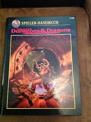 AD&D - Advanced Dungeons & Dragons 2nd Edition - Spieler-Handbuch 2159G