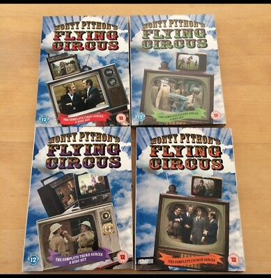 Monty Pythons Flying Circus Complete Series 1-4