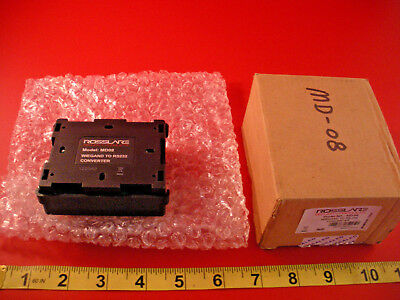 Rosslare Security MD-08 Wiegand to RS-232 Converter MD08 Nib New