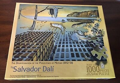 SALVADOR DALI PUZZLE 1000 Piece The Disintegration of the Persistence of  Memory