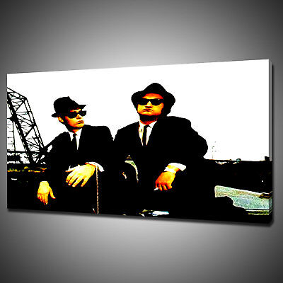 Blues Brothers Movie Canvas Picture Print Wall Hanging Art Home Decor Free P&p