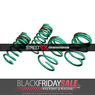 "Tein 1.6"" x 1.5"" S-Tech Lowering Coil Spring Kit for Honda Civic SKA36-AUB00"