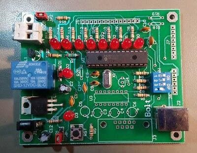 BOLT Lite PIC18F2550 Microcontroller Board - Enhanced + USB mod