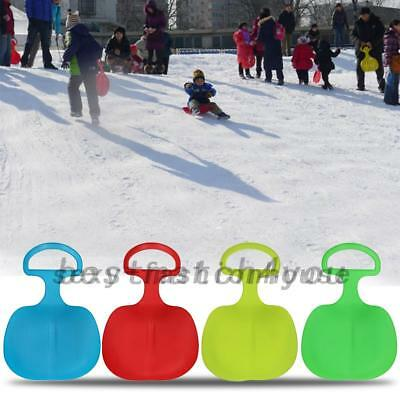 Outdoor Plastic Skiing Boards Sled Luge Snow Grass Sand Board Adults Play