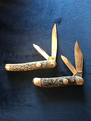 Vintage Pocket Knife Lot of 2: (2) Imperial used - 1 excellent / 1 very good
