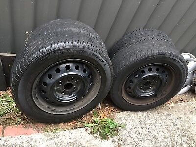 Toyota Echo 14 inch Factory Rims and tyres - set of 4