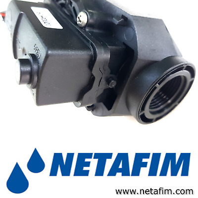 "3/4"" Electric Water Valve High Quality NETAFIM AquaNet 12V 24V DC 0.2-10BAR 1/2"