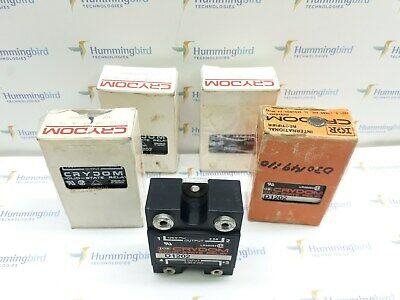 Lot Of 5!! Crydom D1202 Solid-State Relay Panel Amount New!!!
