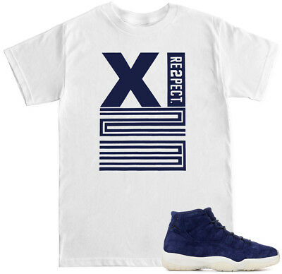 89d94e46203 XI 23 RE2PECT Shirt to match with Air Jordan Retro 11 JETER BINARY BLUE  shoes
