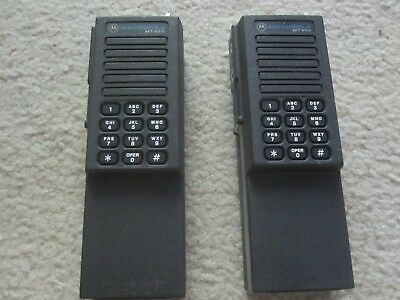 2 - Motorola MT500 VHF Radios with SELCAL and DTMF Front