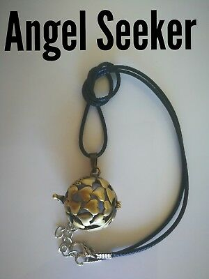 Code 850 Angel Seeker Baby Caller Musical Ball Infused Necklace Pregnancy IVF