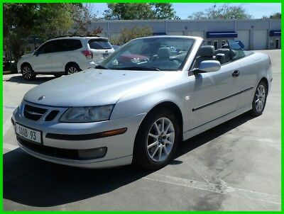 Saab 9-3 ARC CONVERTIBLE TURBO AUTO HEATED LTHR XENON LOADED LOW 117K MILES TURBO AUTO HEATED LTHR FM CD XENON NO RUST SHARP LAST BID WINS