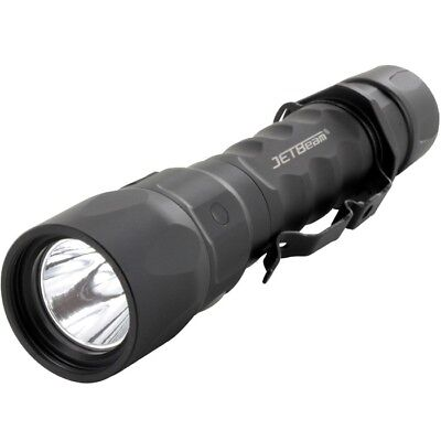 Jetbeam Rechargeable Tactical Flashlight, Black  (Jet-IM)