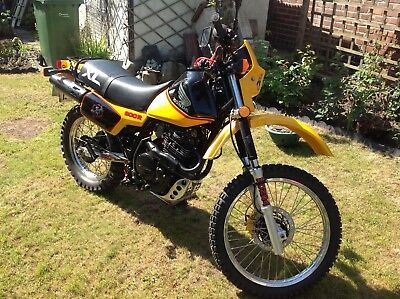 Motorcycle Honda XL 600r (similar to XR 600)